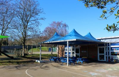 KS1 playground area at The Lea Primary School and Nursery