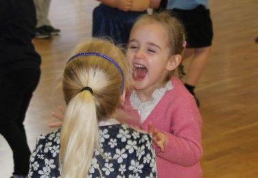 Happy Nursery children at The Lea Primary School and Nursery