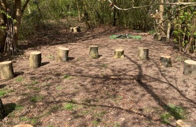 The Lea Forest School Log Circle