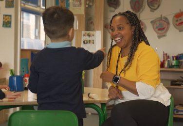 The Lea Nursery classroom learning