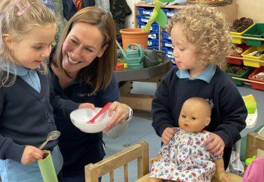 The Lea Nursery role playing