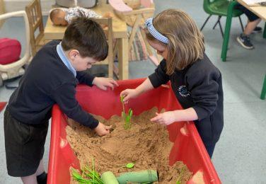 The Lea Nursery playdough