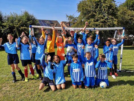The Lea Primary Football Team